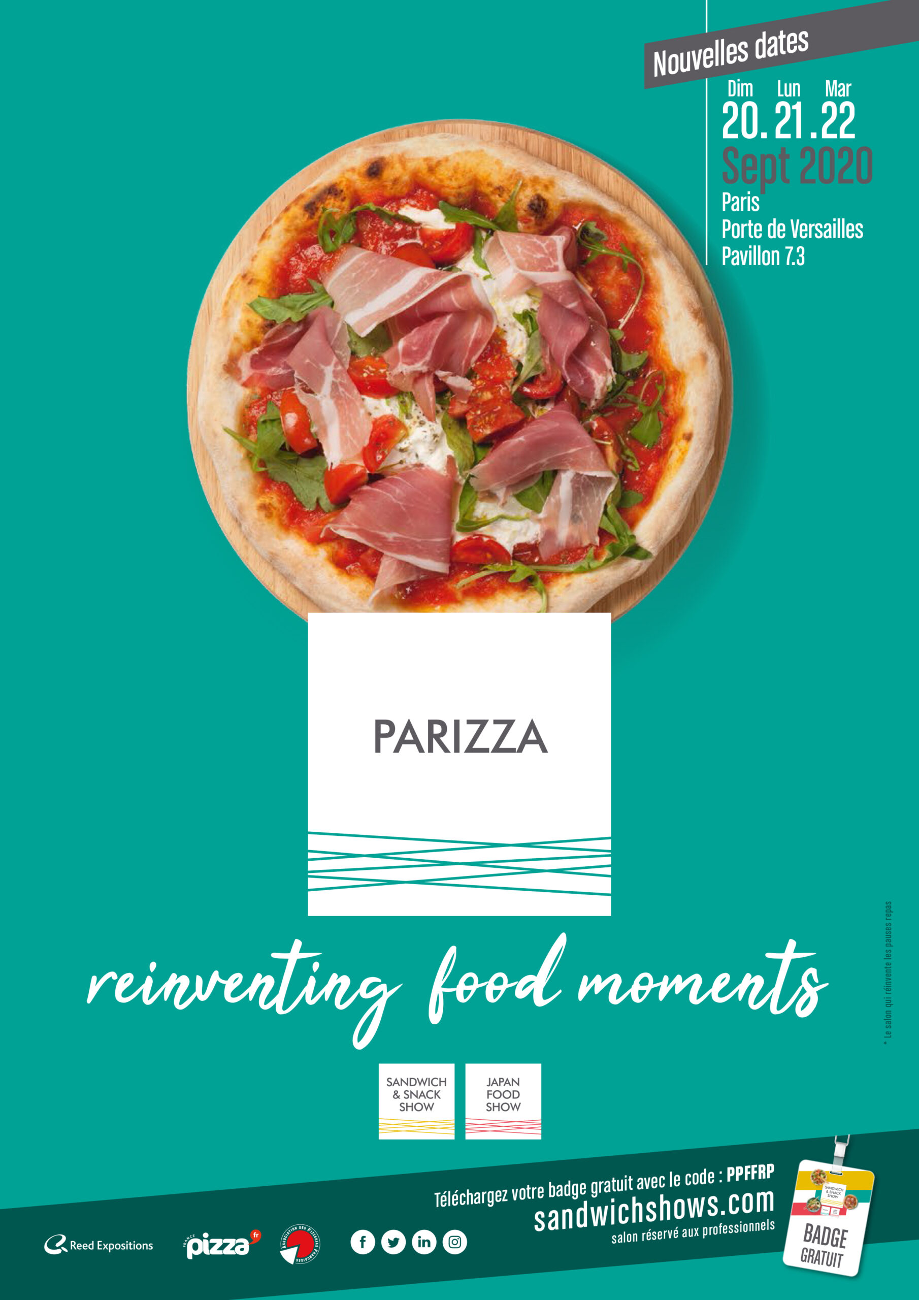 Parizza nouvelles dates